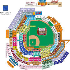 Cardinals Stadium Seating Chart Arizona Busch Stadium St Louis Cardinals Ballpark Ballparks Of