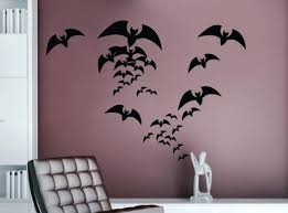 medium size of diy bat wall decorations paper ideas vinyl removable sticker home decor