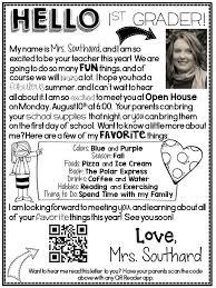 Teacher Welcome Back Letter Magdalene Project Org