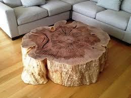 Tree Stump Coffee Table natural Unique Design tree stump coffee .
