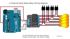 solid state relay with arduino Wiring Diagram Channel Guitar Pick Up