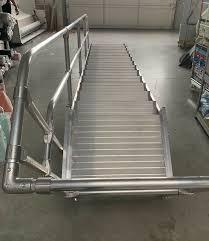 Treppe Aluminium 3m