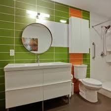 mid century modern bathroom tile. nod to mid-century modern bathroom mid century tile
