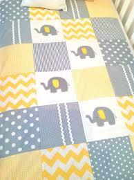 Best 25+ Elephant quilts pattern ideas on Pinterest | Baby quilts ... & Elephant Baby Crib Quilt and Pillow in Yellow by AlphabetMonkey, $185.00 Adamdwight.com