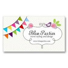 Party Planner Business Cards Rome Fontanacountryinn Com