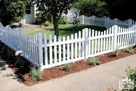 vinyl picket fence front yard. Front Yard Vinyl Picket Fence Burnaby Direct Fencing Supply