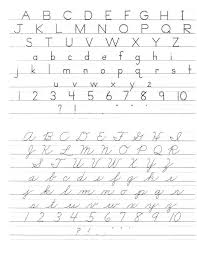 Blank Cursive Writing Worksheets Blank Handwriting Sheets Writing ...