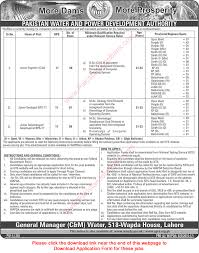 wapda jobs nts application form junior civil engineers wapda jobs 2016 nts application form junior civil engineers geologists seismologist geophysicist
