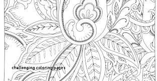 Difficult Halloween Coloring Pages Free 3 Marker Challenge