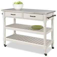 kitchen island cart white. Alec Kitchen Cart, White Kitchen Island Cart White E