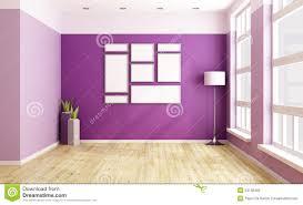 Purple Room Empty Purple Room Stock Photo Image 61773211