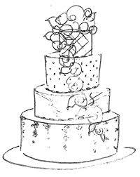 elegant wedding cake clipart. Exellent Clipart Wedding  With Elegant Cake Clipart L
