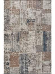 frencie flat weave rug beige blue