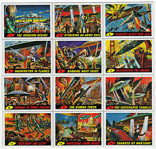 Image result for mars attacks trading cards 1962