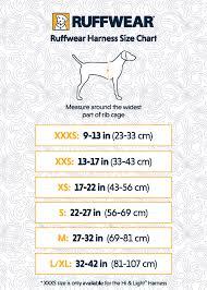 Ruffwear Harness Size Chart Ruffwear Harness Sizing Chart