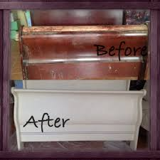 Painting Old Bedroom Furniture Custom Bedroom Set With Sleigh Bed Painted In Annie Sloan Chalk
