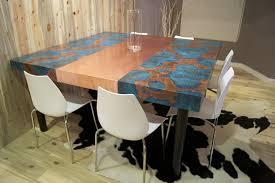 Copper Table Tops Copper Interesting Copper Kitchen Table