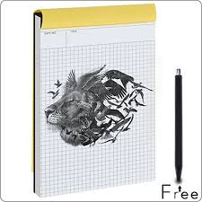 Graph Paper Notebook Quad Ruled Writing Pad Legal Ruled