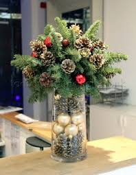 Enjoyable Design Ideas Floral Decorations For Christmas Table Flower