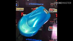 สีฟ้ามิ้นเหลือบมุกเขียวTK-B42 Fusion Colour Style By ทีเคคาร์คัลเลอร์  #รถซิ่งสีต้องสวย - YouTube