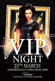 Club Flyer Templates Free Vip Night Club Flyer Template Free Flyer Templates Free