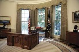 west wing oval office. The Oval Office In West Wing Of White House, Washington, D.C.,