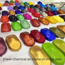 China Supplier Automotive Paint With Color Shade Chart