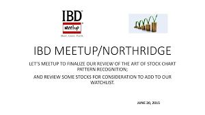 Ibd Meetup Northridge Ppt Download