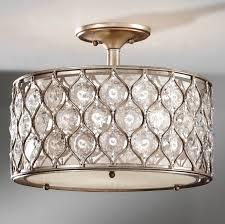 full size of lighting attractive flush mount chandelier crystal 17 mesmerizing 14 lgmfsf289bus bronze crystal flush