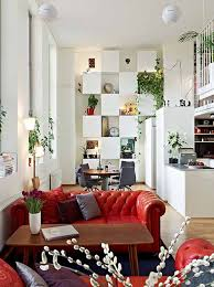 home decorating ideas for apartments. image of: compact decorating studio apartments interior furniture red sofa home ideas for