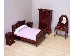 doll house furniture sets. Classic Dolls House Bedroom Furniture Set Doll Sets
