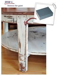 distressed coffee table a revisit
