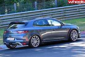 2018 renault megane rs review. wonderful 2018 2017renault megane rsspypic rear side track to 2018 renault megane rs review