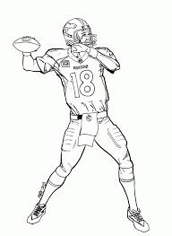 Fast Denver Broncos Logo Coloring Page Free Printable Coloring