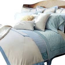 linen cream blue cal king duvet cover set modern bedding sets contemporary covers and