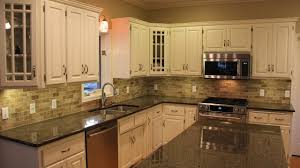 the best backsplash ideas for black granite countertops home and cabinet reviews you