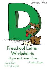 Preschool Letter Worksheets D | Letter worksheets, Worksheets and ...