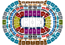 Seating Map See The Pepsi Center Seating Chart Maps