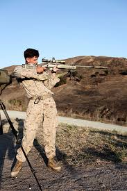 Marine Corps Scout Sniper File A U S Marine Corps Scout Sniper With Weapons Company 1st