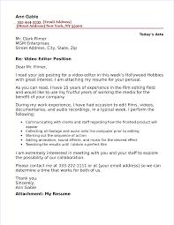 180 Video Editor Cover Letter Sample Jpg