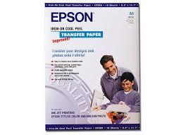 Купить <b>термотрансферная бумага Epson A4</b> Iron-On Cool Peel ...