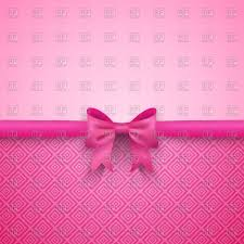 romantic pink background with cute bow vector image vector artwork of backgrounds textures to zoom