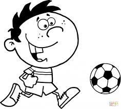 Soccer Coloring Pages Free 8 Coloring Page For Kids