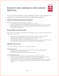 Business Sponsorship Proposal Template Magdalene Project Org