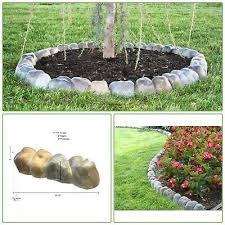 rock edger garden stone overlapping