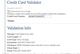 A dart package that validates credit card numbers, expiration dates, and security codes (cvv/cvc) of a credit card. See How Credit Card Validation Works Igopaygo
