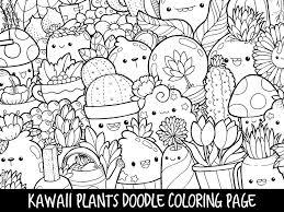 Bathtub Fun Coloring Page Plants Doodle Coloring Page Printable Cute