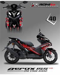 Aerox Decals Design Decal Fullbody Yamaha Aerox 155