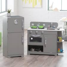 classic wooden play kitchen set gray com