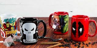 marvel coffee mugs